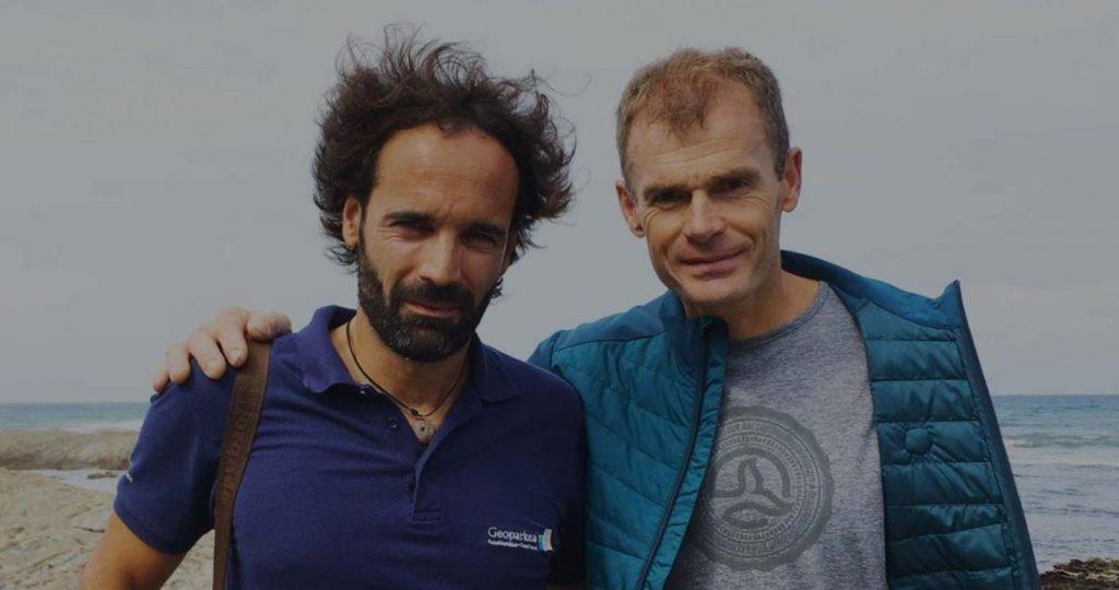 Asier Hilario y Alberto Iñurrategi