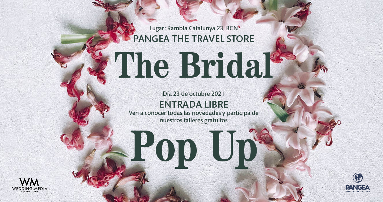 Pop up Novios PANGEA Barcelona